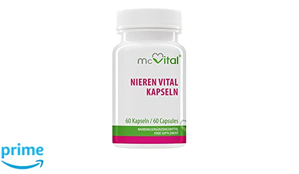Nieren Vital Kapseln - Durchspülung - Wirkt Harntreibend ...