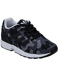 Adidas Originals ZX Flux Plus Formateurs Noir AQ5398, Taille:39 1/3