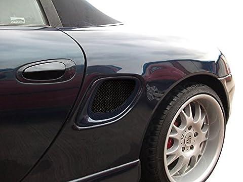 Porsche Boxster 986 - Ensemble ventilation latéral - Finition noir (1996 to 2004)