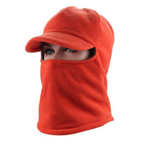 ECYC Winter Warme Gesichtsmaske Fahren Hut Dicke Samt Männer Frauen Outdoor Sport Hüte Visor Sun...