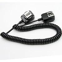 DSLRKIT - Cable de sincronización para flash externo E-TTL para Canon (3 m)