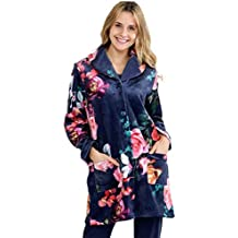 MASSANA Bata de Mujer Estampada Flores L686243 - Marino, L