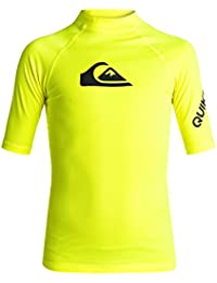 Quiksilver All Time Ss T-Shirt Garçon