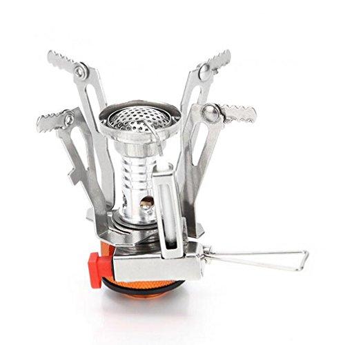 Lorenlli Pliable 10 plaques cuisini/ère barbecue cuisini/ère /à gaz pare-vent /écran de pique-nique en plein air pliant camping pique-nique cuisini/ère /écran de vent