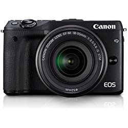Canon EOS M3 EF-M 18-55 IS STM KIT (Black)
