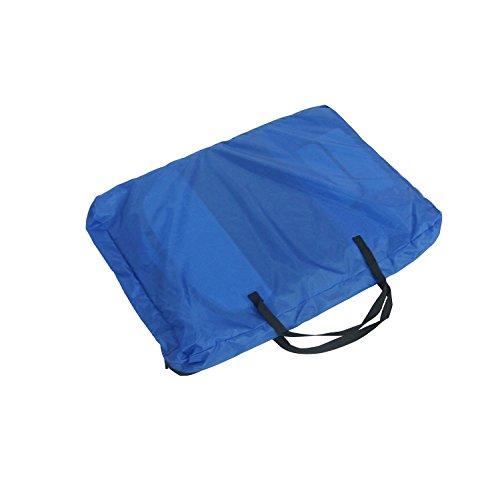 Lolipet – Blauer Freilaufgehege – großer Tierlaufstall für innern oder außen – einfach aufzubauen - 4