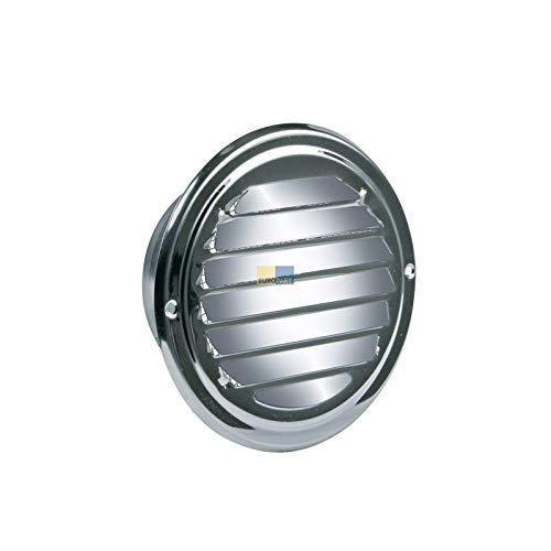 LUTH Premium Profi Parts Universal Lüftungsgitter 100erR Edelstahl mit Insektenschutznetz für Luftführung Trockner Dunstabzugshaube -