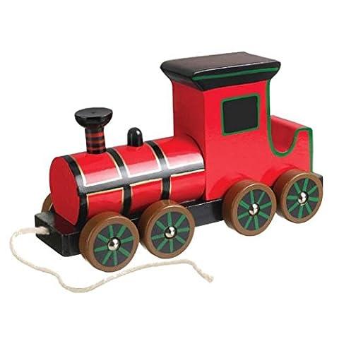 Orange Tree Toys - Steam Train victorienne - Pull en bois le long