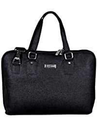 ALBERT Laptop Office Bag Adjustable Light Weight & Stylish Black Unisex Bag