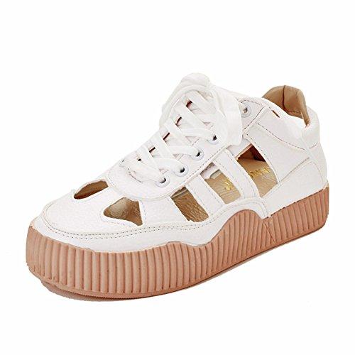 Hohl,Flach,Schnüren,Damen Sandalen/Freizeit,Wild,Atmungsaktiv,Board Schuhe/Damenschuhe-A Fußlänge=24.3CM(9.6Inch) (Ted Baker-flache Sandalen)