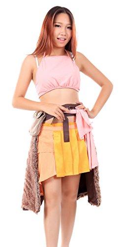Fantasy Kostüm Final Vanille (De-Cos Final Fantasy XIII Cosplay Costume Oerba Dia Vanille Outfit)