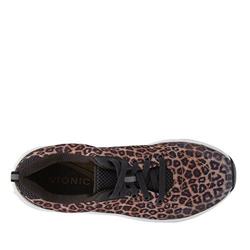 Vionic Tourney, Chaussures Multisport Outdoor Femme Motif léopard Marron