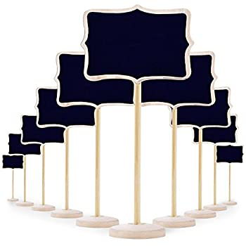 mini tafel schiefertafel klein kreidetafel f r message board signs 12 st ck k che. Black Bedroom Furniture Sets. Home Design Ideas