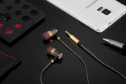 Betron YSM1000 Earphones Headphones, High Definition, in-ear, Noise Isolating , Heavy Deep Bass for iPhone, iPod, iPad, MP3 Players, Samsung Galaxy, Nokia, HTC, Nexus, BlackBerry etc (With Microphone)