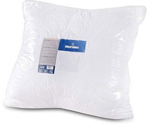 80x 80Oreiller surpiqûre hypoallergénique pour les personnes allergiques 100% microfibre microfibre certifié Öko-Tex Standard 1300g 80x 80cm Martinez DecoKing