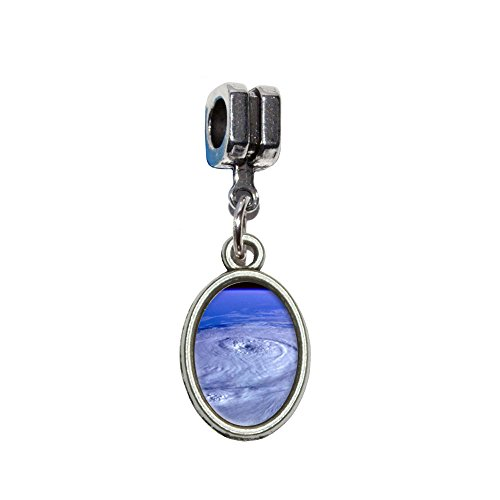 Satellite Wetter Bild Italienisches europäischen Euro-Stil Armband Charm Bead–für Pandora, Biagi, Troll,, Chamilla,, andere (Europäische Kostüm Bilder)