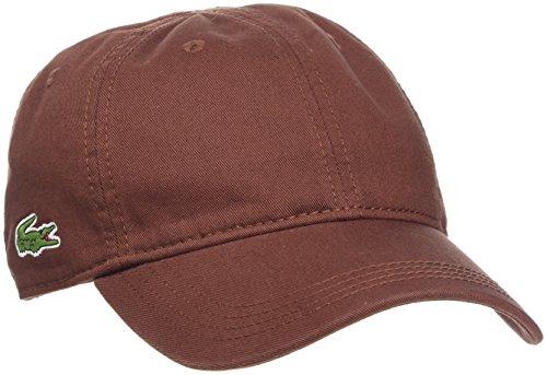 Lacoste Herren Baseball Cap RK9811, Braun (Cevennes Y8E), One Size
