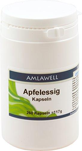 Amlawell Apfelessig Kapseln, 260 Kapseln -