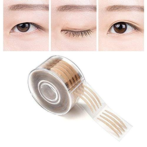 AGE CARE Double Fold Invisible Big Eyes 600pcs Makeup Clear Lace Mesh Eyelid Shadow Tape Tools Sticker Stripe.