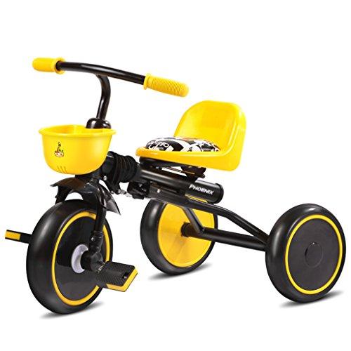 Preisvergleich Produktbild KA-ALTHEA- Tricycle Fahrrad Spaziergänger Kinderwagen Kind 1-6 Jahre alt Kinderwagen Faltrad Kinderroller Skateboard Fahrrad Walker Tricycle ( farbe : Weiß )