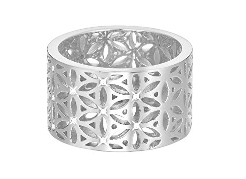 ESPRIT Damen-Ring JW50220 rhodiniert Gr. 57 (18.1) - ESRG02754A180