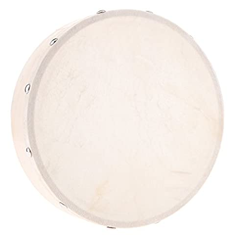 Gazechimp Handtrommel Trommel aus Holz Percussion Drums Musikinstrument Spielzeug - 4 / 6 / 7 / 8 / 10 Zoll - 8 Zoll