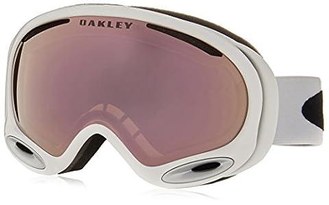 Oakley A-Frame 2.0 Polished Ski Goggles, White/VR50