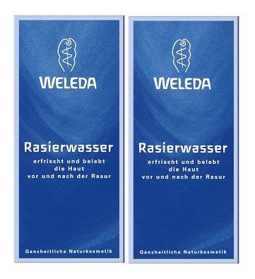 Weleda Rasierwasser, 2 x 100ml