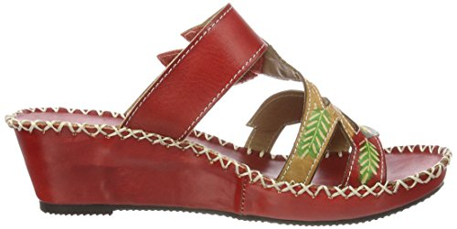 Laura Vita Betsy 21, Ciabatte Donna Rot (Rouge)