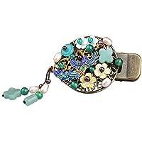 XYCZG-Horquilla Phoenix del Ornamento del Pelo del Clip de sujecion Antiguos de Headwear Ornamento del Pelo Clip de Estilo Elegante Folk
