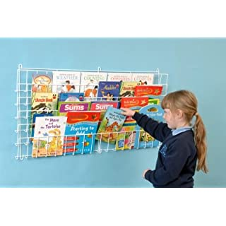 Childrens Horizontal Wall Bookrack-A1175