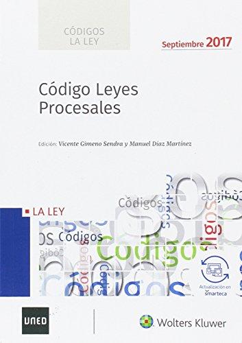 CODIGO LEYES PROCESALES 2017