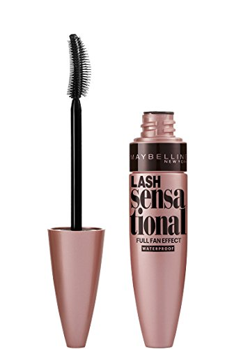 Maybelline New York Lash Sensational Mascara Waterproof, Very Black, 9ml