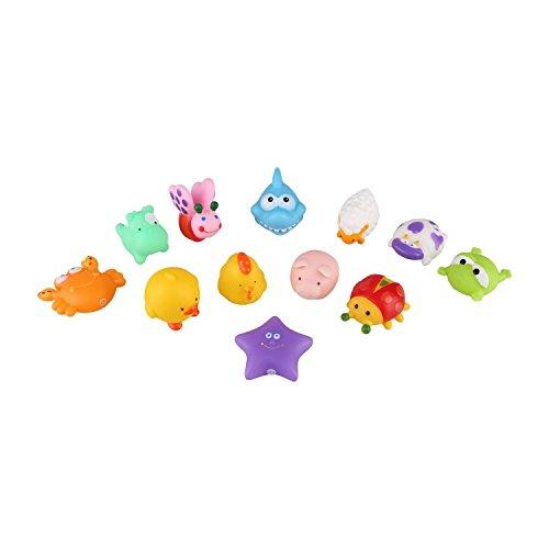 Peradix-Baby-Wasserspielzeug-Badspielzeug-se-quietschende-Tiere-12-PCs-Set-zufllig-senden
