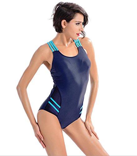 ZOYOL-YT Professionelle Sport Triangle Einteilige Badebekleidung Hot Spring Beach Fitness Badeanzug 6 inches