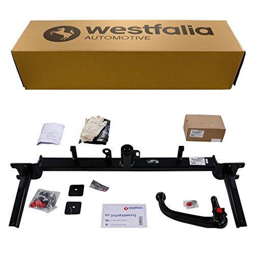 Abnehmbare Westfalia Anhängerkupplung für Astra H Caravan (BJ 10/2004-11/2010) im Set mit 13-poligem fahrzeugspezifischen Westfalia Elektrosatz