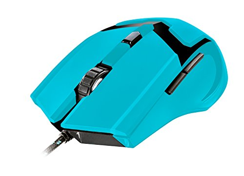 Trust Gaming GXT 101-SB Spectra Mouse Gaming, Blu