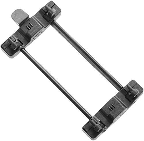 Elegante Snap (Racktime Gepäckträger Adapter Snap-it Sytem schwarz, One Size)