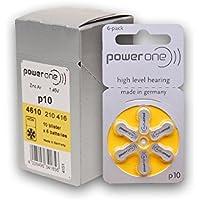 60 Stück Varta PowerOne P 10 - Hörgerätebatterie PR70 - 100 mAh 1,4 V