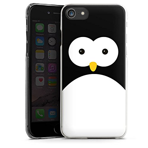Apple iPhone 5 Tasche Hülle Flip Case Pinguin Tiere Cute Hard Case transparent
