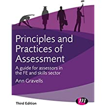 Principles and Practices of Assessment (Further Education and Skills)