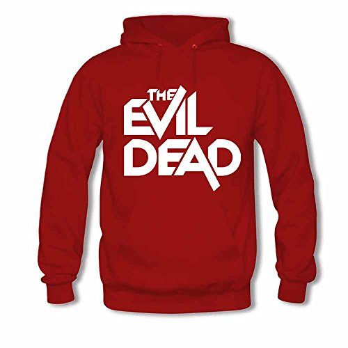 Womens Hooded Sweatshirt The Evil Dead Logo Cotton Hoodie XL