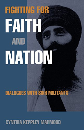 Fighting for Faith and Nation: Dialogues with Sikh Militants (Contemporary Ethnography) por Cynthia Keppley Mahmood