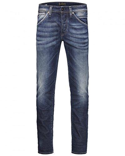 Jack & Jones Jjiglenn Jjfox 669 Indigo Knit Noos, Jeans Homme Bleu (jeans)