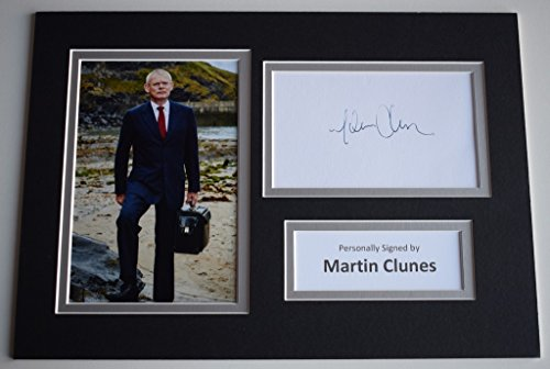 sportagraphs-martin-clunes-signed-autograph-a4-photo-display-tv-doc-martin-aftal-coa-perfect-gift