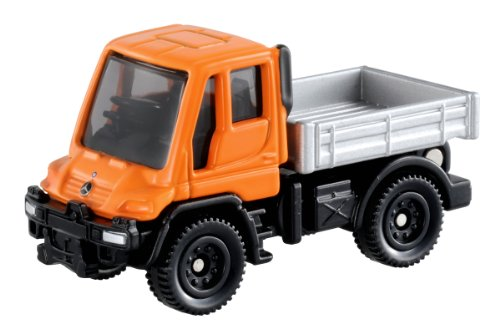 Tomica No.22 - Mercedes Benz Unimog (Box)