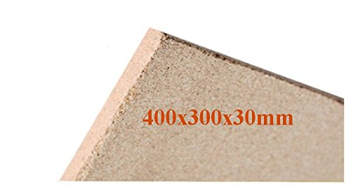 1x30mm Vermiculite Platte Brandschutzplatten 400x300x30mm Schamotte Ersatz
