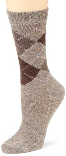 Burlington Damen Socken Whitby, Gr. 36/41, Braun (Nutmeg Meliert 5413)