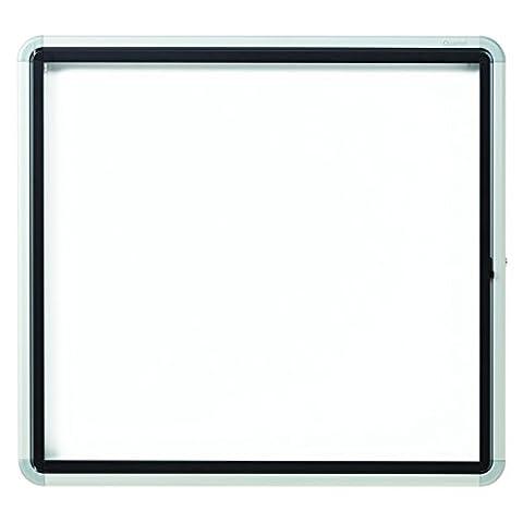 Quartet Enclosed Magnetic Whiteboard, Outdoor, 30