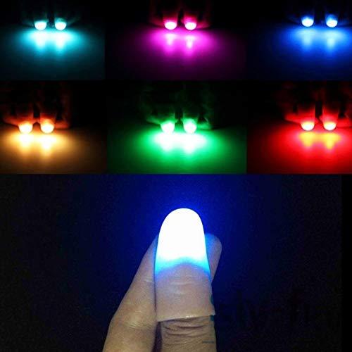 Finger Lichter Zauberrequisiten Ein Paar